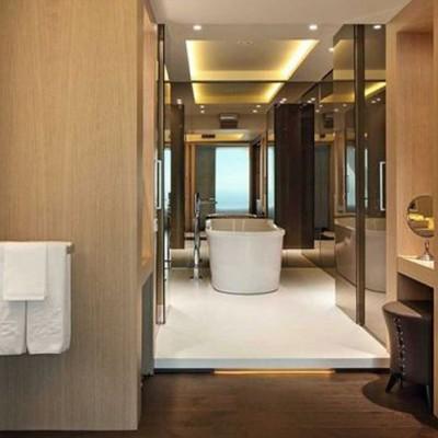 Los baños del Hotel Arts, Barcelona