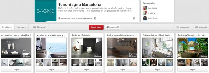 Pinterest Tono Bagno