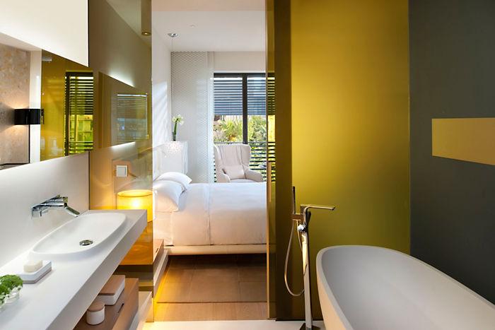 baños de diseño hoteles, Tono Bagno Hotel Mandarin