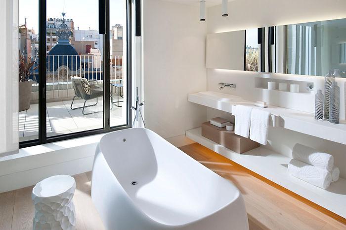 baños para hoteles de lujo, Tono Bagno Barcelona Hotel Mandarin