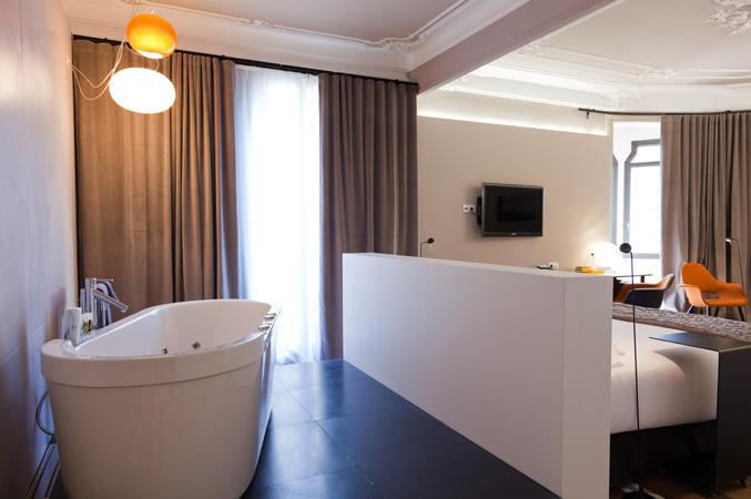 baño hotel barcelona
