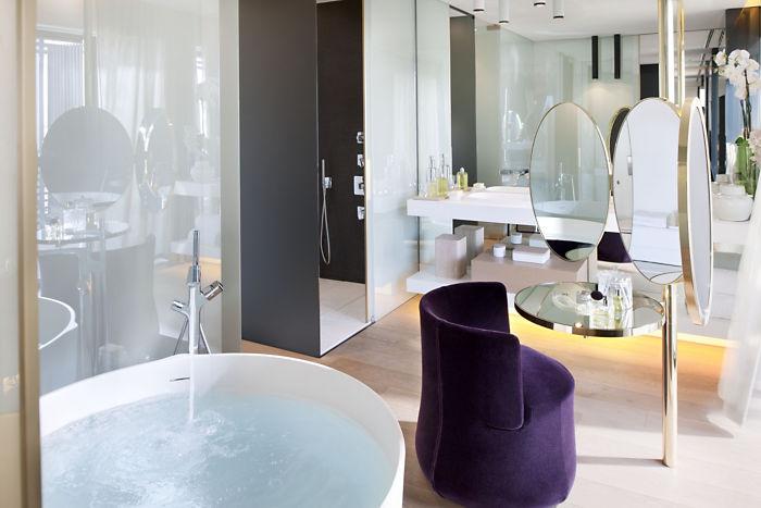 diseño de baños para hoteles, Tono Bagno Hotel Mandarin