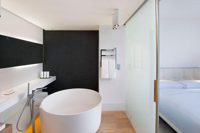 decoracion e interiorismo de hoteles, Tono Bagno Baños diseño hoteles, Hotel Mandarin