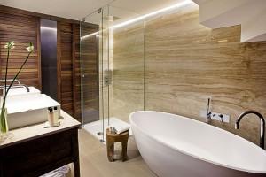 Tono Bagno Proyecto baños hotel derby claris Barcelona