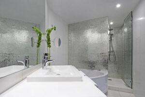 proyecto hotel baño barcelona