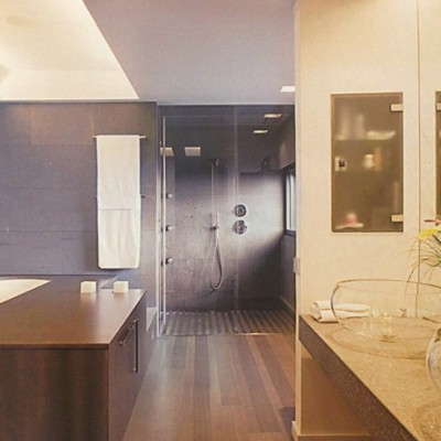 Cuarto de baño moderno Esplugues de Llobregat Barcelona Tono Bagno