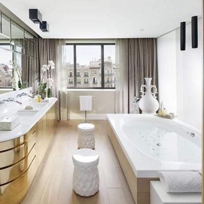 Los baños del Hotel Mandarín Oriental