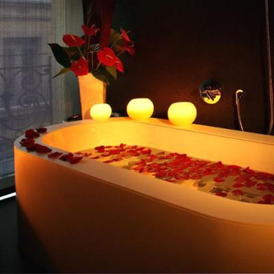 Baños habitaciones Ohla Hotel, Barcelona