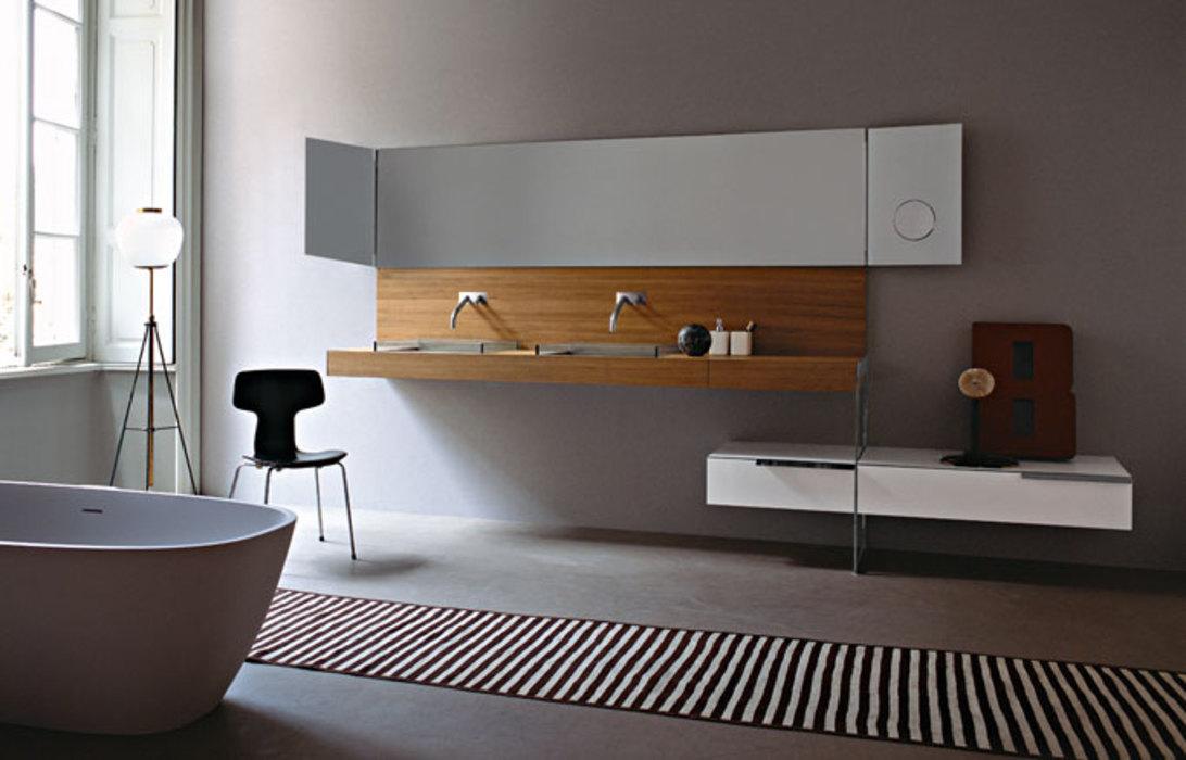 baños de diseño, agape-bañera NORMAL-lavabo 002-griferia SQUARE- espejo NARCISO