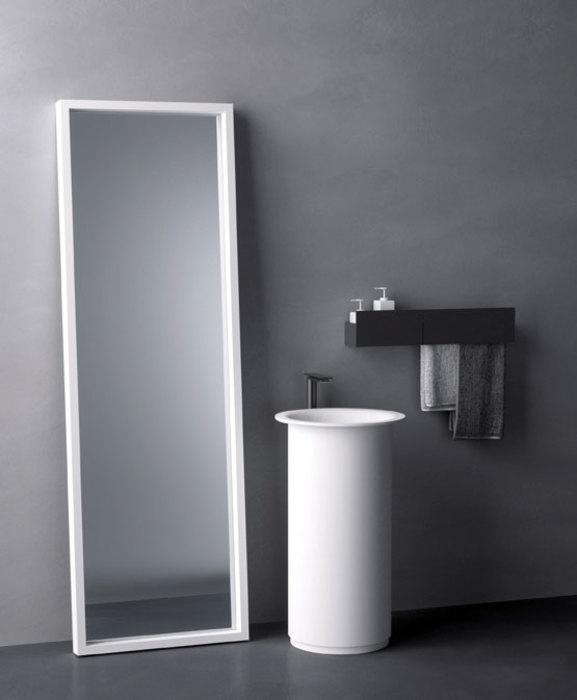 baños de diseño, diseño de baños modernos cemento
