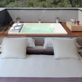 Hotel Abac Barcelona baños de diseño hoteles lujo - Tono Bagno - Barcelona
