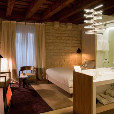 Los espectaculares baños de Mercer Hotel, Barcelona