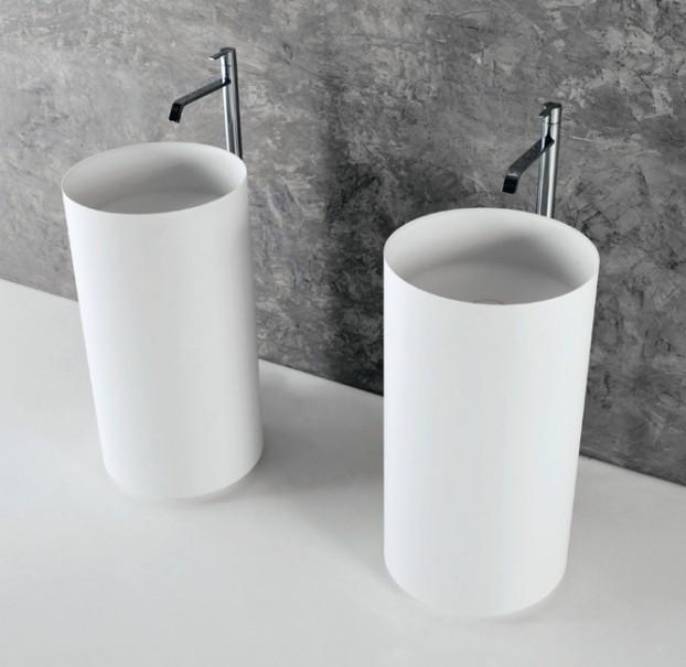 Tono Bagno - diseño de Baños cemento - AntonioLupi - lavabo EGO - griferia BIKAPPA
