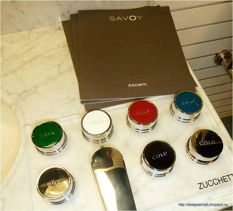 Zucchetti Grifería Savoy colores, Tono Bagno
