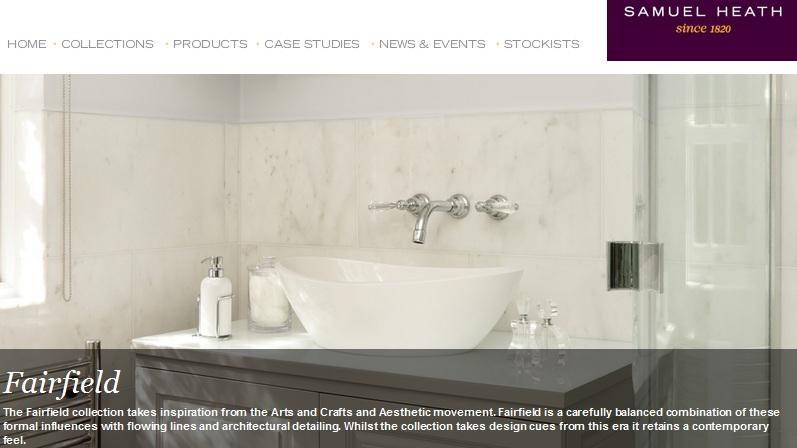 Baños modernos de diseño, samuel heath