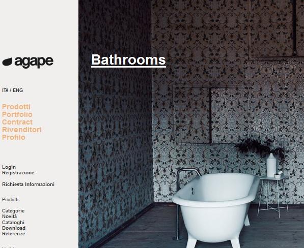 Baños de diseño, agape