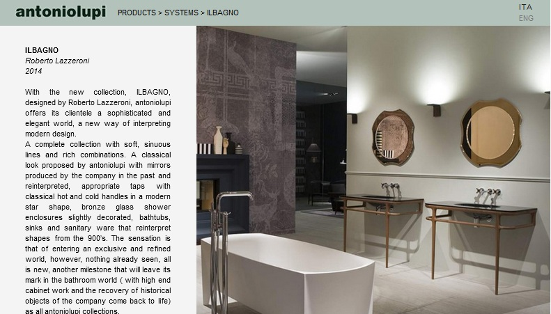 baños modernos de diseño, antonio luppi