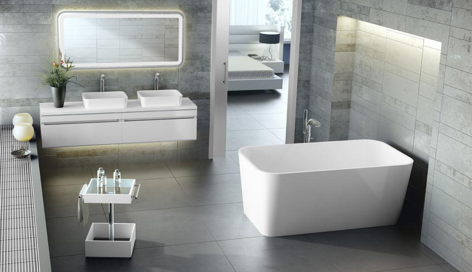 bañeras victoria albert edge, baneras rectangulares