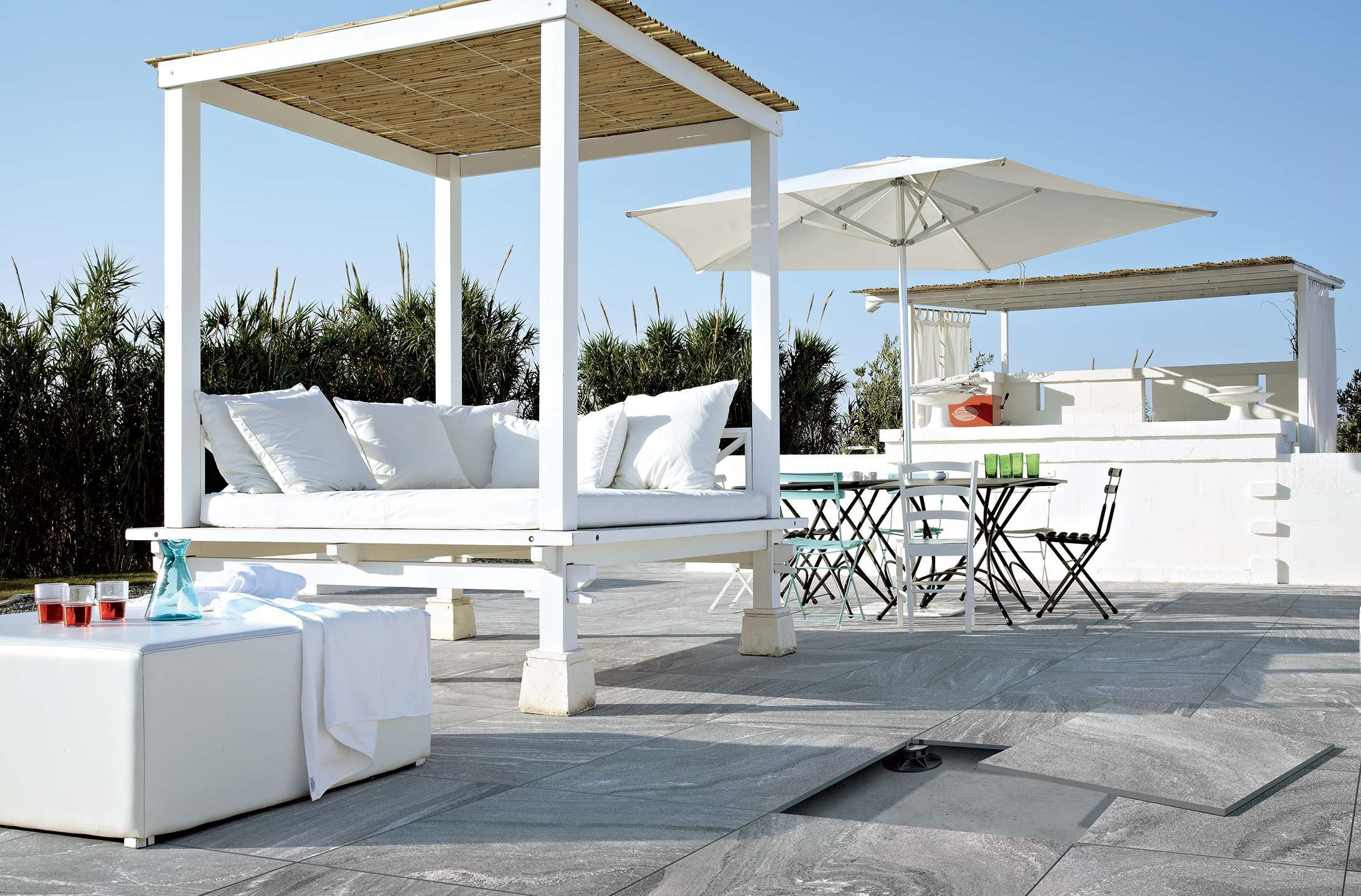 Pavimentos exteriores elevados para terrezas y jardines - Pavimentos para exteriores ...