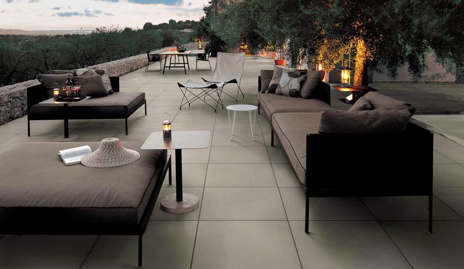 pavimentos exteriores elevados para terrezas y jardines