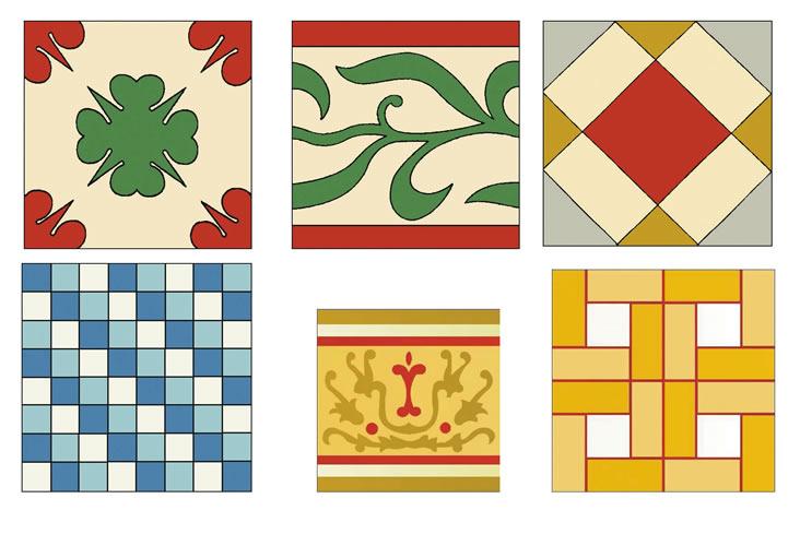 Mosaicos hidraulicos barcelona tono bagno for Pavimentos barcelona