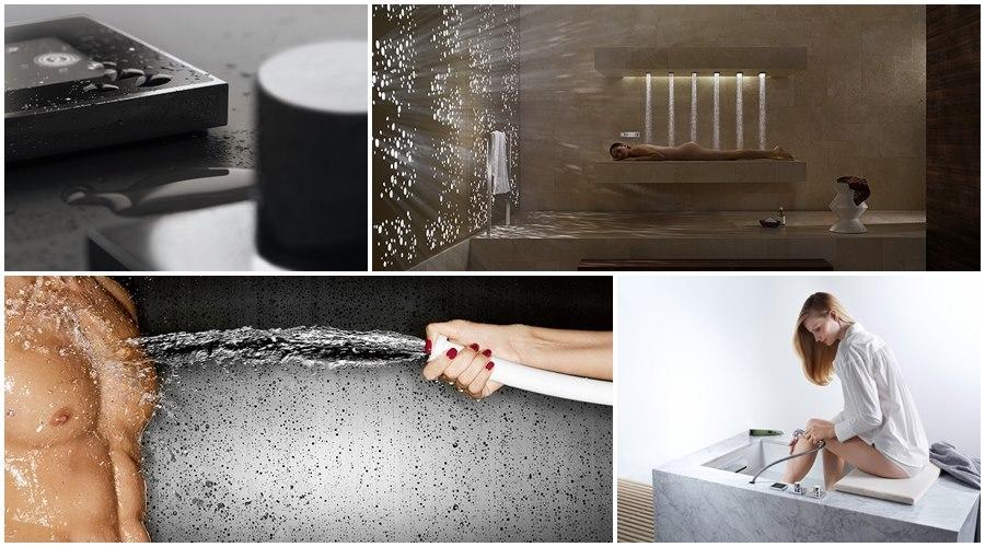 duhcas modernas para baños de diseño, Dornbracht