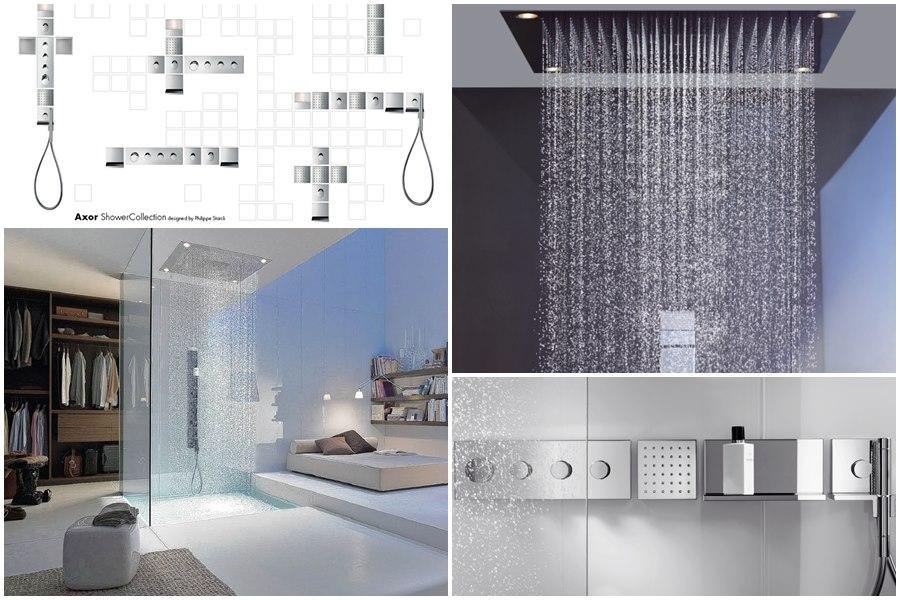 duchas hansgrohe, duchas de diseño