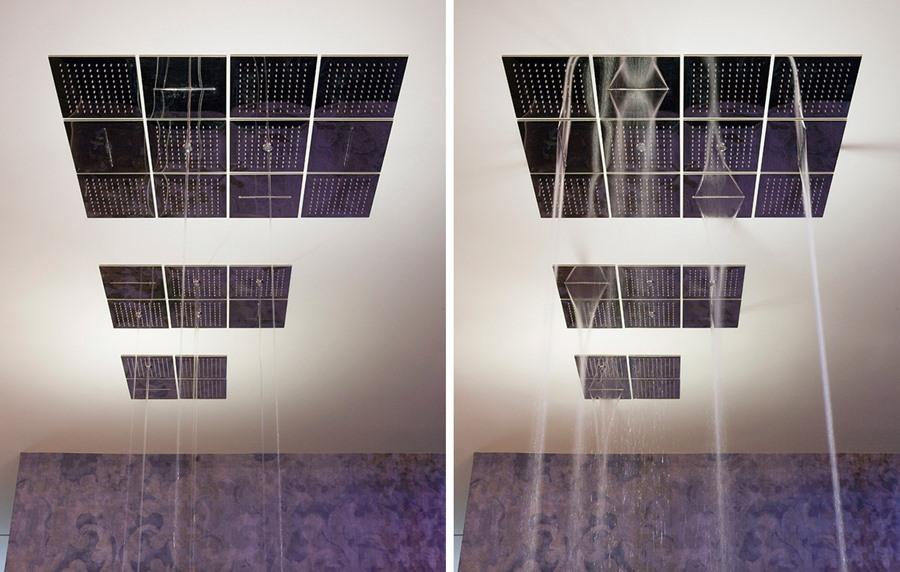Duchas modernas diseño, Antonio Lupi Meteo