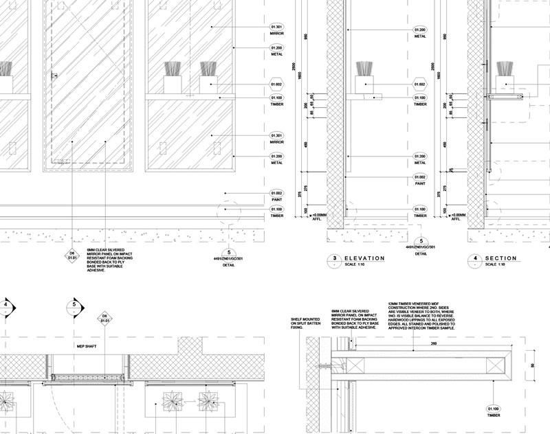 Plano Arquitectura Interiores, Intercon