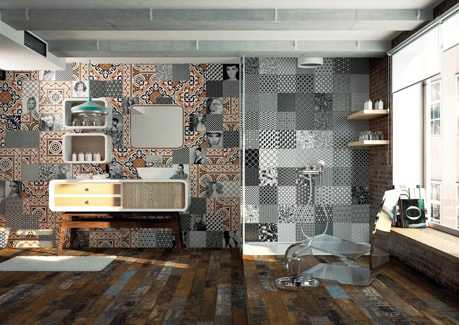 pavimentos porcelanicos barcelona, pavimentos revestimientos Aparici Serie Retro