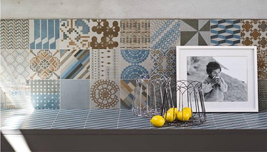 Pavimentos revestimientos Mutina Serie Azulej de Patricia Urquiola - Tono Bagno Barcelona