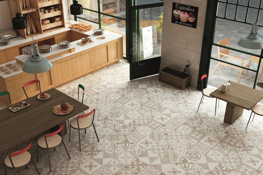 Pavimentos revestimientos porcelanicos Aparici Serie Retro , Tono Bagno Barcelona