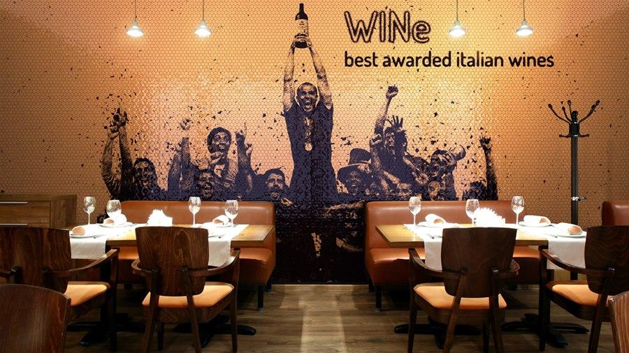 mosaico digital para restaurantes, MyMosaic - Tono Bagno, Barcelona