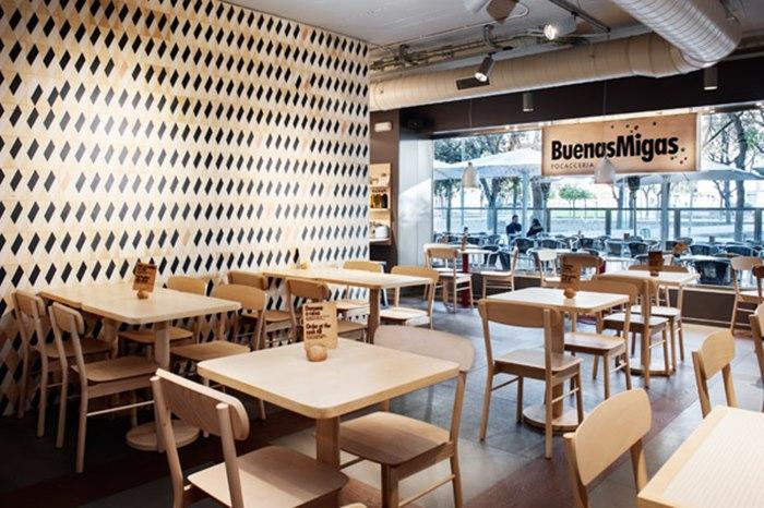 Pavimentos para restaurantes tono bagno for Pavimentos barcelona