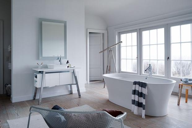CAPE CODE by DURAVIT, designer bathtub, Tono Bagno, Barcelona