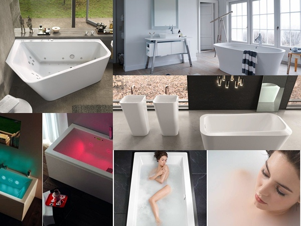 Design baths, whirlpools for bathrooms, Tono Bagno