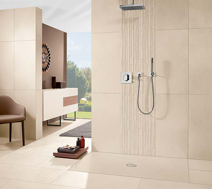 novedades platos de ducha a medida y extraplanos tono bagno