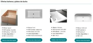 ofertas bañeras barcelona