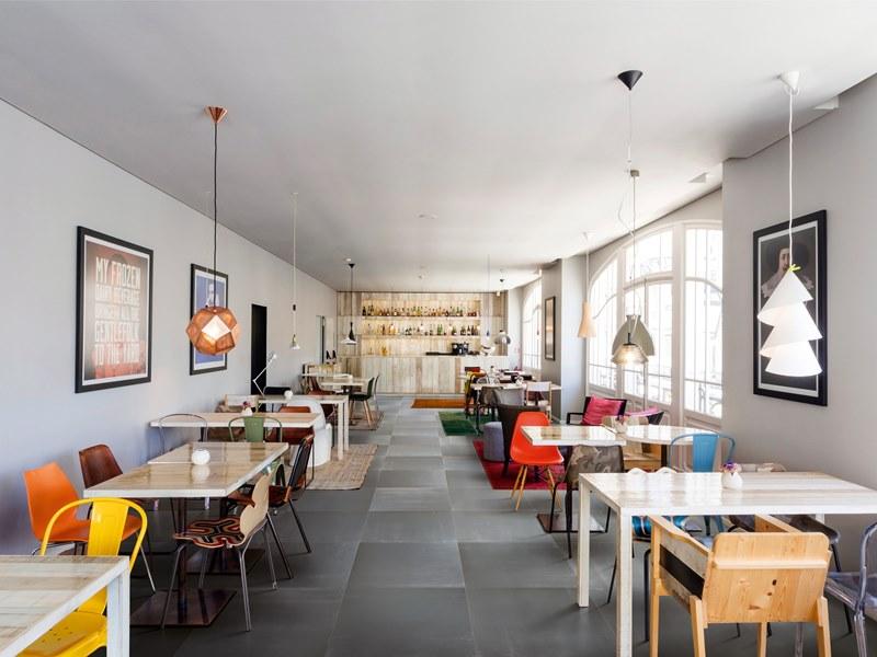 Suelos Y Paredes Para Bares Y Restaurantes Tono Bagno - Diseo-cafeterias-modernas