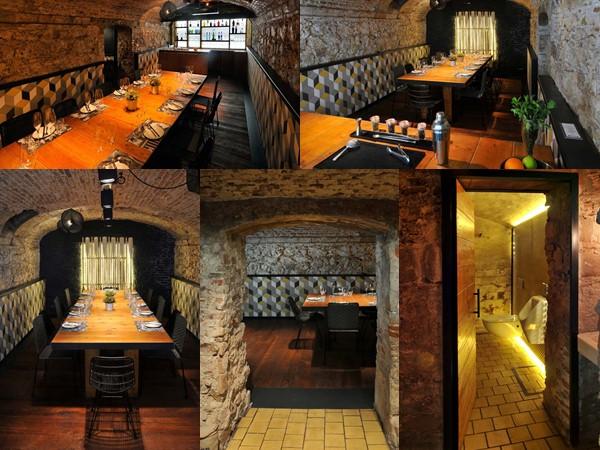 suelos rusticos para restaurantes