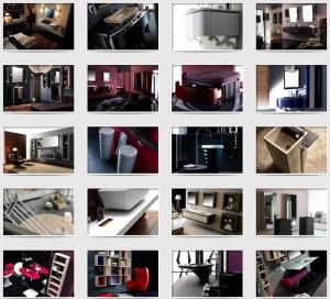 Tienda de muebles para baño, mobiliaro para el baño Mapini, Tono Bagno, Barcelona