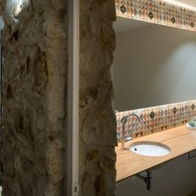 Reforma cuartos de baño, baños de diseño, rural, moderno, baños segunda residencia, Tono Bagno Barcelona, Cases singulars Emporda, Pals