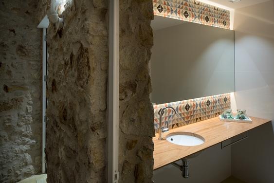 reforma baños casas rusticas, tono bagno, gloria duran
