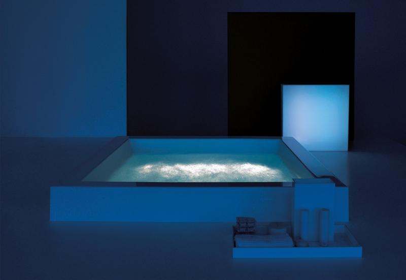 bañera exenta grande quadra, zucchetti kos, Tono Bagno Barcelona