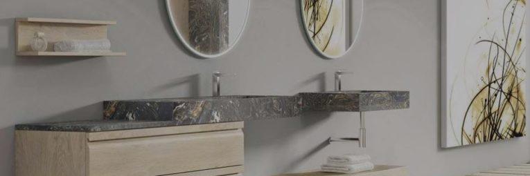 exposicion muebles de baño barcelona, muebles de baño decosan