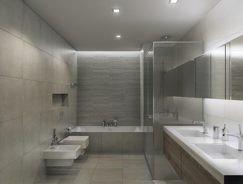 Baño Suite Hotel Reem Island Tower Residential Emiratos