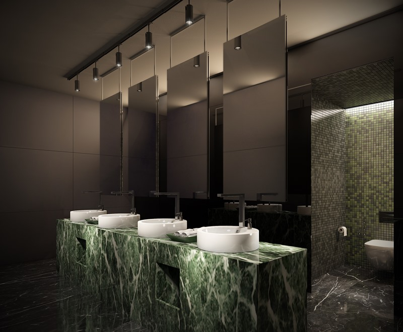 Diseño de baños para hoteles, tonobagno Barcelona
