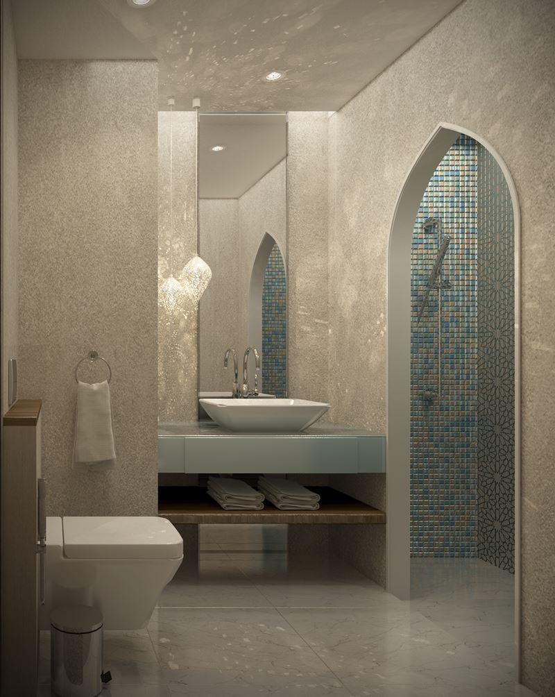Cuarto de baño suite, baño shaza hotel Makkah, La Meca, Tono Bagno ...