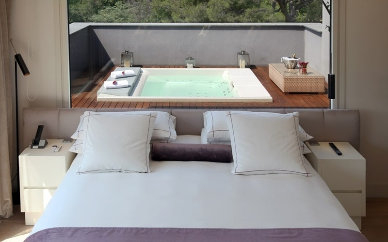 baños de diseño para hoteles en barcelona, tonobagno