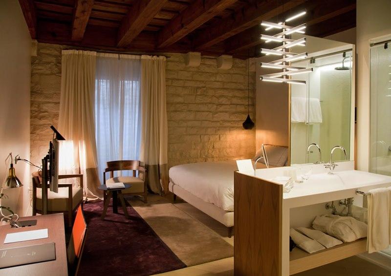 diseño de baños modernos para hoteles, tono bagno barcelona